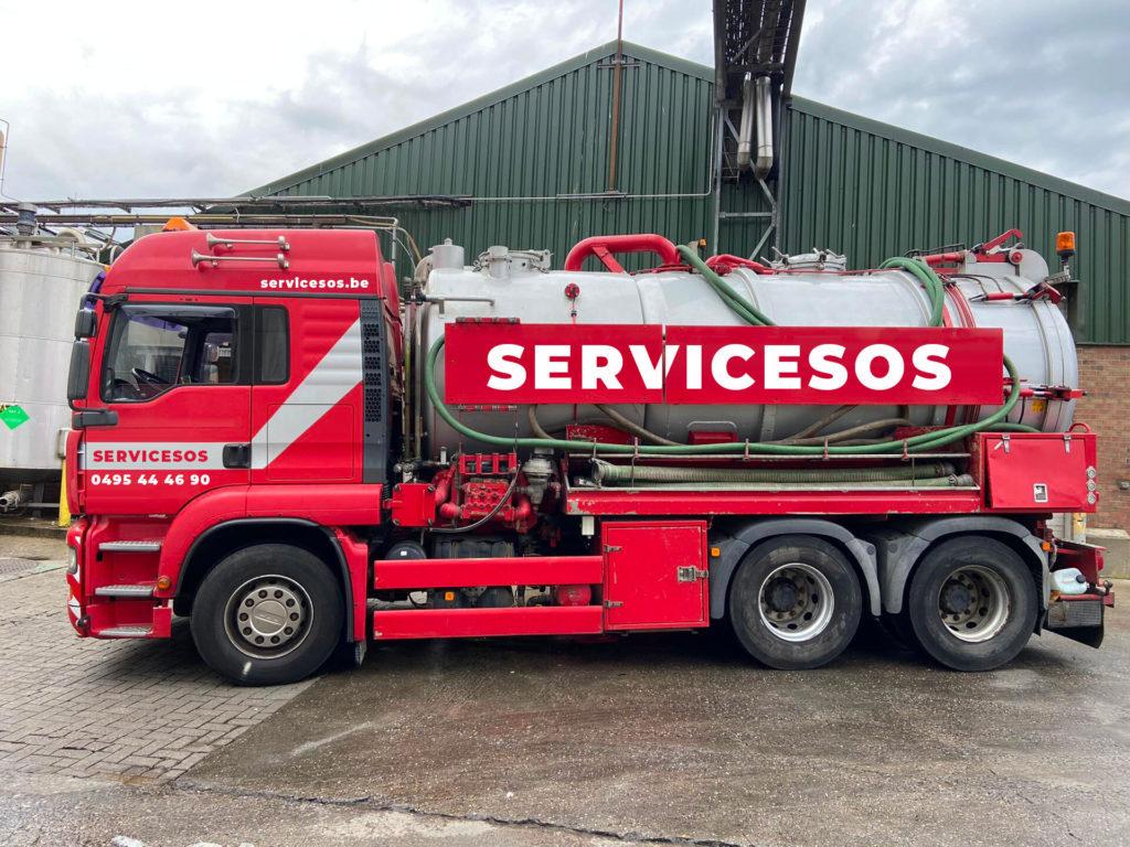Camion Vidange serviceSOS